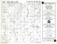 McMillan T47N-R40W, Ontonagon County 1959